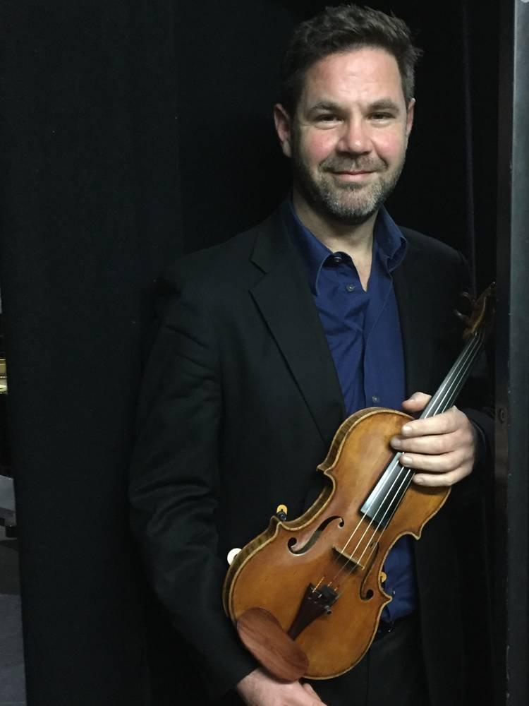 Andrew Haveron, classical music violinist