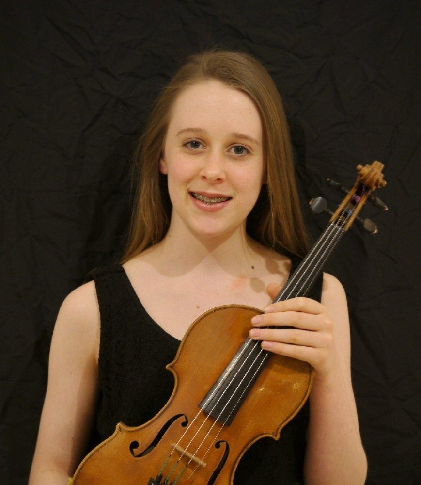 Grace Clifford, Fine Young Australian Violin Player