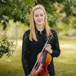 Grace Clifford classical music performer playing the violin