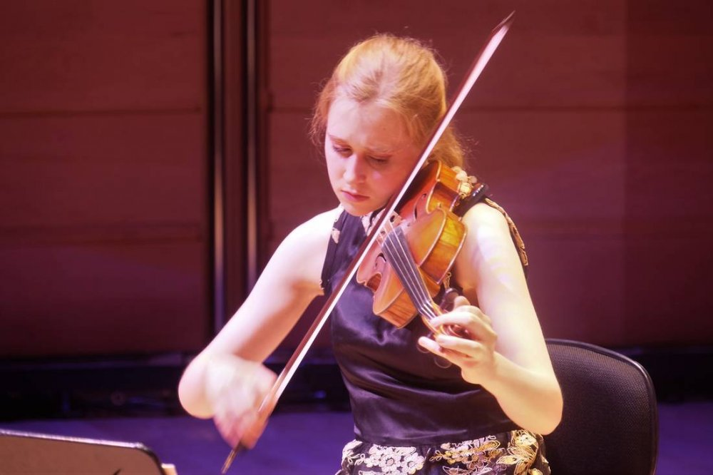 Grace Clifford, Young Violinist