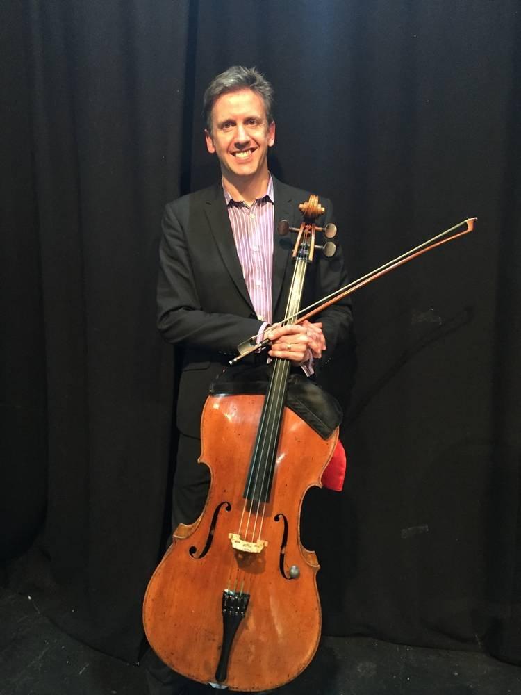 Julian Smiles with Cello