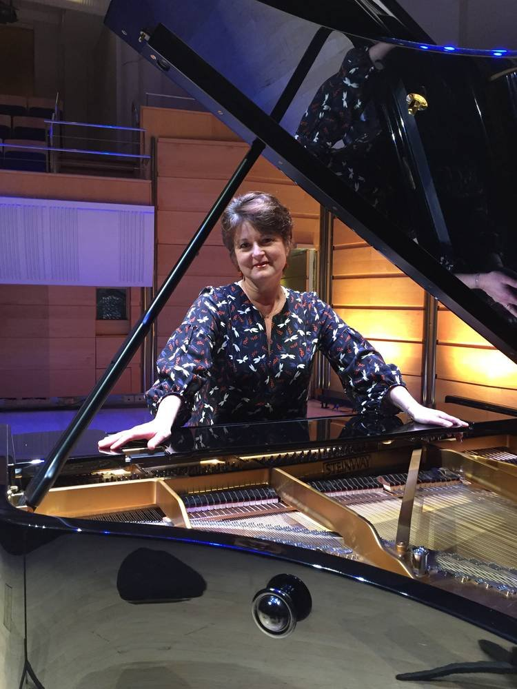 Kathryn Selby on Grand Piano