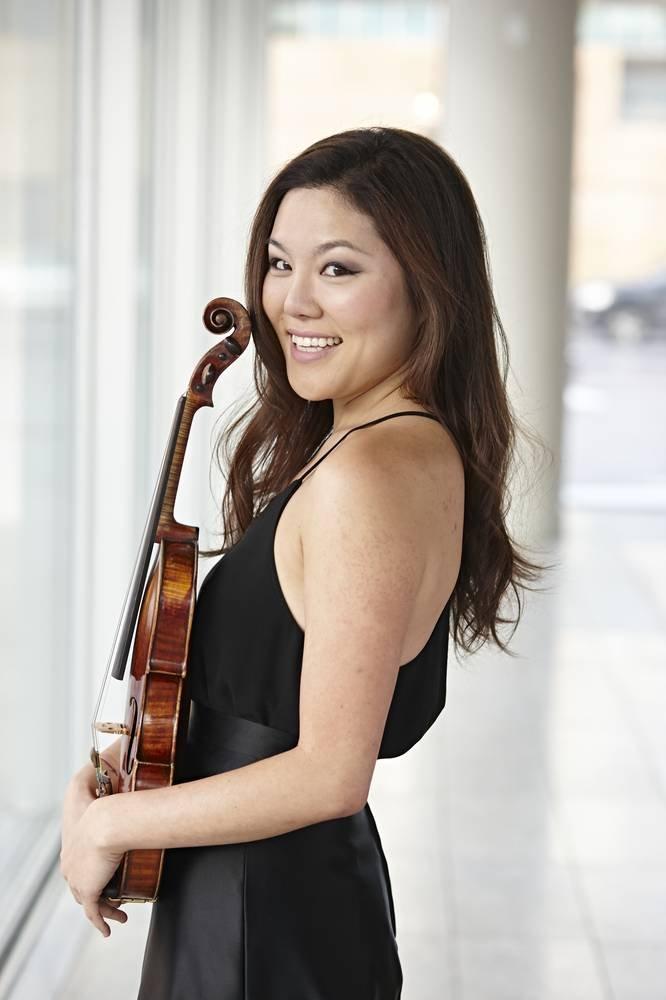 Susie Park Talented Violinist